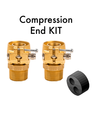 DUO End Termination KIT - Compression Fittings