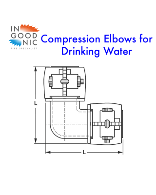 Compression Elbow - Sanitary