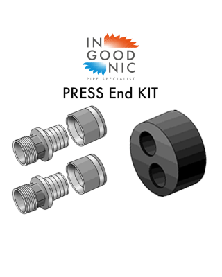 DUO End Termination KITS - PRESS Fittings