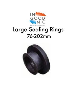 LARGE sealing rings 76-202mm