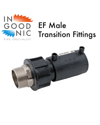 Electrofusion Male Transition Fittings