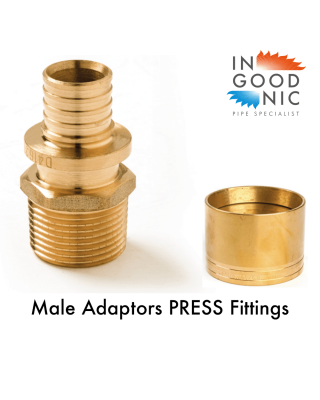 PRESS MALE ADAPTORS