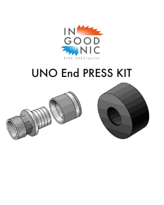 UNO End Termination KITS - PRESS Fittings