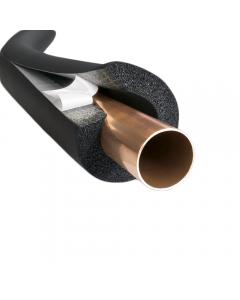 60mm - 19mm thick - Armaflex Pipe Insulation Lagging Black Nitrile Foam Class O 2m