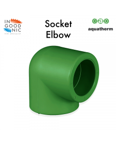 90° Socket Weld Elbow - Female / Female